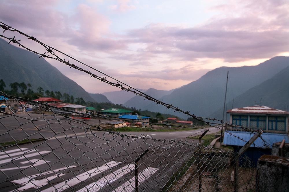 NEPAL, Everest Region, Lukla. May 20th, 2012. Lukla to Kathmandu.