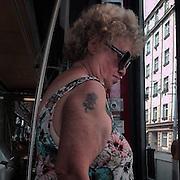 Zizkov#3. #flowers #tattoo #prag #praha #prague #czechrepublic #public #woman #glasses #sun #rose #portrait #style