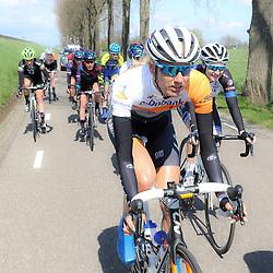 16-04-2016: Wielrennen: IJsseldelta Topcompetitie vrouwen: Zwolle<br />ZWOLLE (NED) wielrennen <br />Wind was in deze editie de grootste tegenstanders van de vrouwen.<br />Moniek Tenniglo