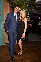 Vernon Kay and Tess Daly at the 2017 Fortnum & Mason Food & Drink Awards held at Fortnum & Mason, Piccadilly London England. 11 May 2017.<br /> Photo by Dominic O'Neill/SilverHub 0203 174 1069 sales@silverhubmedia.com