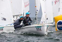 , Travemünde - 420er WM 25.07. - 03.08.2014, 420er, IRL 55281, Ewan McMAHON, Colin O'SULLIVAN, HYC