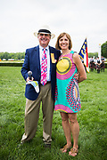 April 29, 2017, 22nd annual Queen's Cup Steeplechase. Bill and Carrington Price