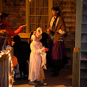 Taken during the Ghosts on the Banke event at Strawbery Banke Museum in Portsmouth, NH. Halloween, 2015.