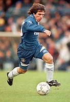 Fotball<br /> England<br /> Foto: Colorsport/Digitalsport<br /> NORWAY ONLY<br /> <br /> Chelsea historikk<br /> GIANFRANCO ZOLA (CHE). CHELSEA V LIVERPOOL, 01/01/1997.