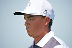 June 16, 2018 - Southampton, NY, USA - Rickie Fowler leaves the 1st tee during the third round of the 2018 U.S. Open at Shinnecock Hills Country Club in Southampton, N.Y., on Saturday, June 16, 2018. (Credit Image: © Brian Ciancio/TNS via ZUMA Wire)