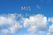 MIIS Faculty Fall 2018