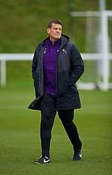 DERBY, ENGLAND - Friday, March 8, 2019: Derby County's Under-23 manager Craig Short during the FA Premier League 2 Division 1 match between Derby County FC Under-23's and Liverpool FC Under-23's at the Derby County FC Training Centre. (Pic by David Rawcliffe/Propaganda)