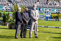 De Vos Ingmar, Beerbaum Ludger, ..<br /> European Championship Riesenbeck 2021<br /> © Hippo Foto - Dirk Caremans<br /> 03/09/2021