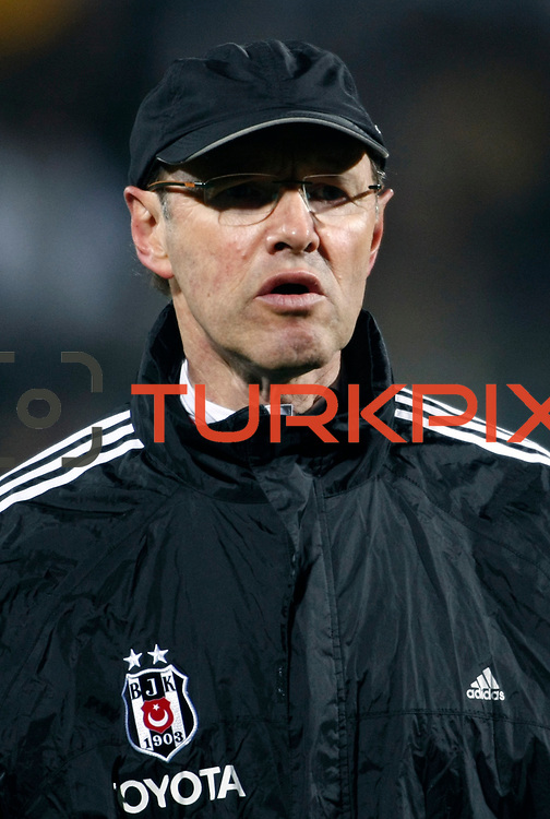 Besiktas's Roland Bernhard Koch during their Turkish Superleague soccer match Ankaragucu between Besiktas at the 19 Mayis stadium in Ankara Turkey on Sunday 08 January 2012. Photo by TURKPIX