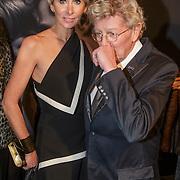 NLD/Amsterdam/20150211 - Premiere Fifty Shades of Grey, Monique en partner Jan des Bouvrie