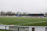 The 3G Pitch prior the The FA Cup match between Sutton United and AFC Wimbledon at Gander Green Lane, Sutton, United Kingdom on 7 January 2017. Photo by Stuart Butcher.