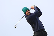 Paraic Connolly (Killeen Castle) on the 4th tee during Round 3 of The West of Ireland Open Championship in Co. Sligo Golf Club, Rosses Point, Sligo on Saturday 6th April 2019.<br /> Picture:  Thos Caffrey / www.golffile.ie