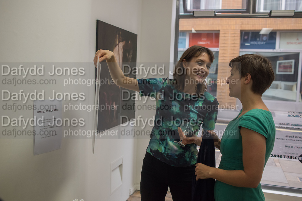 ELLIE TATE; CHLOE BENN, Focus on Painting, Medium Oil, David Royle and Gianluca pisano,  Bermondsey Project Space, London. 30 May 2018.