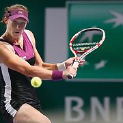 Australian Samantha Stosur during their TEB BNP Paribas WTA Championships at Sinan Erdem Arena in Istanbul Turkey on Tuesday, 25 October 2011. Photo by TURKPIX