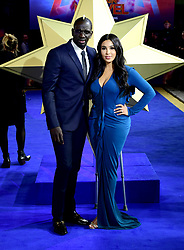 Mamadou Sakho and his wife Majda Sakho attending the Captain Marvel European Premiere held at the Curzon Mayfair, London. Picture date: Wednesday February 27, 2019. Photo credit should read: Ian West/PA Wire