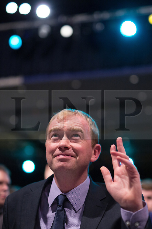 ** FILE PIC - Tim Farron has been elected leader of the Liberal Democrat Party** © Licensed to London News Pictures . 07/10/2014 . Glasgow , UK . TIM FARRON , President of the Liberal Democrats and MP for Westmorland and Lonsdale , votes at the conference . The Liberal Democrat Party Conference 2014 at the Scottish Exhibition and Conference Centre in Glasgow . Photo credit : Joel Goodman/LNP
