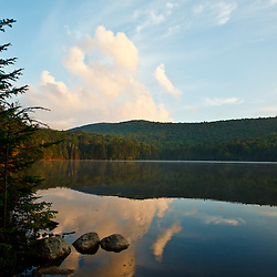 Pond of Safety in New Hampshire's White Mountains. Randolph Community Forest.
