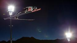 28.12.2015, Schattenbergschanze, Oberstdorf, GER, FIS Weltcup Ski Sprung, Vierschanzentournee, Training, im Bild Joachim Hauer (NOR) // Joachim Hauer of Norway// during his Practice Jump for the Four Hills Tournament of FIS Ski Jumping World Cup at the Schattenbergschanze, Oberstdorf, Germany on 2015/12/28. EXPA Pictures © 2015, PhotoCredit: EXPA/ Peter Rinderer