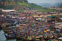 Elmina Fishing Fleet, Cape Coast