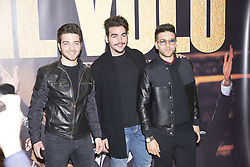 May 4, 2017 - Milan, Italy - Il Volo, the Italian music group consisting of two tenors and a baritone (Gianluca Ginoble, Ignazio Boschetto, and Piero Barone) present in Milan the new tour of thirty concerts in Europe, the tour is called ''Notte Magica' (Credit Image: © Pamela Rovaris/Pacific Press via ZUMA Wire)