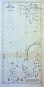 Expedition course chart from the book '  A voyage towards the North Pole : undertaken by His Majesty's command, 1773 ' by Constantine John Phipps, Baron Mulgrave, 1744-1792; The 1773 Phipps expedition towards the North Pole was a British Royal Navy expedition in which two ships under the commands of Constantine John Phipps as Captain of the HMS Racehorse [an 18-gun ship-rigged sloop of the Royal Navy.] and Skeffington Lutwidge as Captain of the HMS Carcass [a bomb vessel of the Royal Navy], sailed towards the North Pole in the summer of 1773 and became stuck in ice near Svalbard. A young Horatio Nelson. was a midshipmen onboard the ' Carcass ' on this expedition