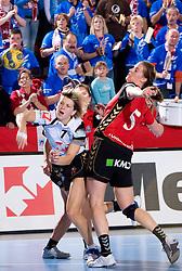 Maryna Vergelyuk of Krim at handball match of Round 2 of Champions League between RK Krim Mercator and Aalborg DH, on October 31, 2009, in Arena Kodeljevo, Ljubljana, Slovenia.  Krim won 30:23. (Photo by Vid Ponikvar / Sportida)