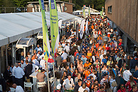 AMSTELVEEN - Overzicht promodorp  bij de Rabo EuroHockey Championships 2017.  COPYRIGHT KOEN SUYK