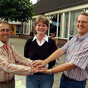 Fusie tussen 3 Huizer scholen verenigd met Peter Leendertse, Geertje Veerman en Herman Hofman