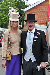 BEN & LUCY SANGSTER at day 2 of the 2011 Royal Ascot Racing festival at Ascot Racecourse, Ascot, Berkshire on 15th June 2011.