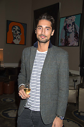 HUGO TAYLOR at the Tatler Little Black Book Party at Home House Member's Club, Portman Square, London supported by CARAT on 11th November 2015.