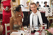 KHRISTINA SYSOEVA; DMITRI OSKIN, The 20th Russian Summer Ball, Lancaster House, Proceeds from the event will benefit The Romanov Fund for RussiaLondon. 20 June 2015