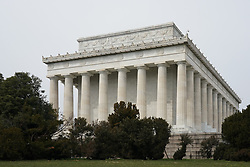 A view of the Lincoln Memorial in Washington DC in the United States. From a series of travel photos in the United States. Photo date: Thursday, March 29, 2018. Photo credit should read: Richard Gray/EMPICS