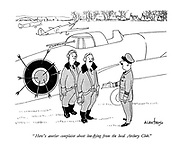 """""""Here's another complaint about low-flying from the local Archery Club."""""""