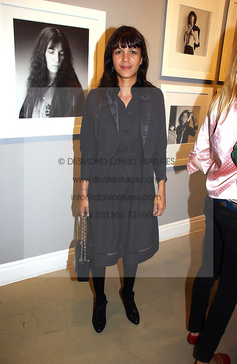 LISA MOORISH at an exhibition of photographs by the late Robert Mapplethorpe at the Alison Jacques Gallery, 4 Clifford Street, London W1 on 7th September 2006.<br /><br />NON EXCLUSIVE - WORLD RIGHTS