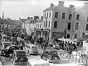 The Criterion Hotel (Now The Royal Hotel) Killarney in the 1950's.<br /> Photo: macmonagle.com archive<br /> <br /> Killarney Now & Then - MacMONAGLE photo archives.<br /> Facebook - @killarneynowandthen