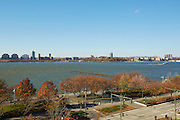 View of the Hudson River from 167 Perry Street, 6th floor