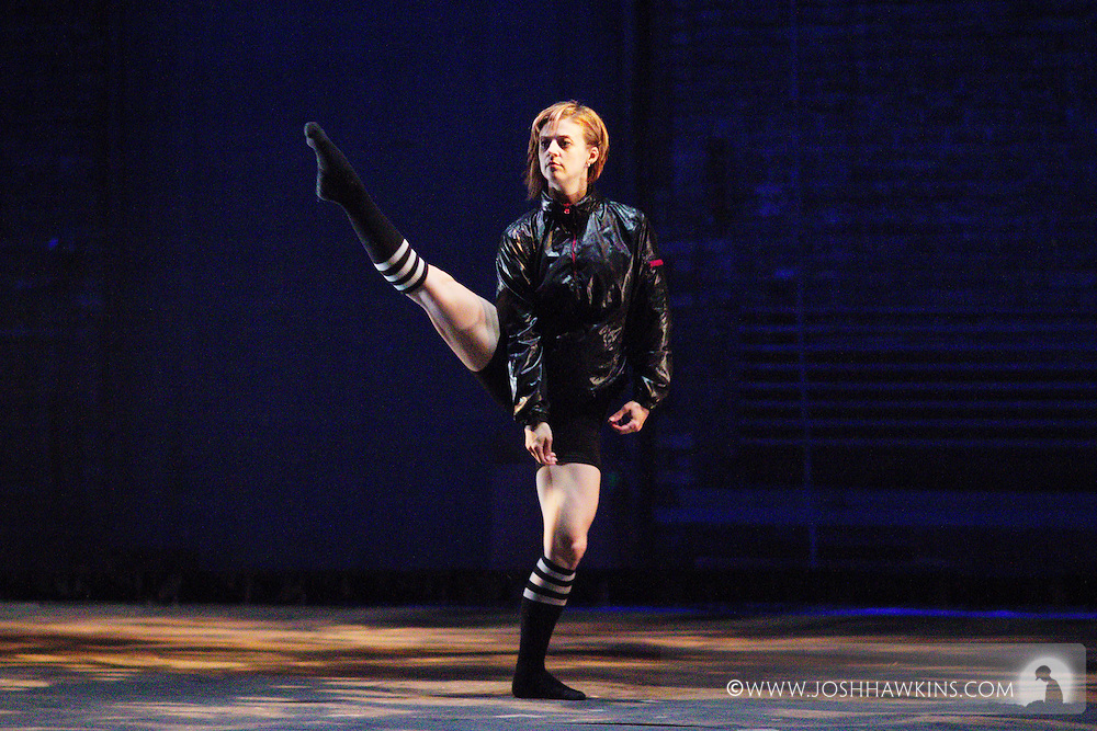 Chicago Tap Theatre - Tap!(ish).LAB, choreography by Eddy Ocampo and Mark Yonally.Dancer, Christina Merrill