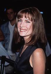 LARA FLYNN BOYLE.The Big Squeeze premiere in Los Angeles 1996.k5961mr.(Credit Image: © Milan Ryba/Milan Ryba via ZUMA Wire)