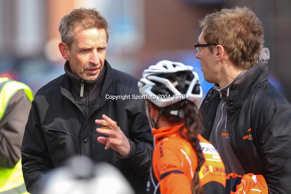 Energiewachttour Stage 2 Pekela-Veendam Boels-Dolmans teammanagier Steven Rooks