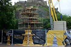 Ross  Fountain Renovation | Edinburgh | 6 July 2017