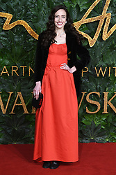 Elizabeth Jagger attending the Fashion Awards in association with Swarovski held at the Royal Albert Hall, Kensington Gore, London
