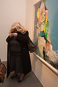 ALEXIS PARR, George Condo - private view . Simon Lee Gallery, 12 Berkeley Street, London, 10 February 2014
