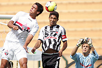 20100125: SAO PAULO, BRAZIL - Sao Paulo FC vs Santos - Sao Paulo Youth Cup 2010 Final. Sao Paulo FC won on the penalty shootout. In picture: Lucas Gaucho (Sao Paulo, L). PHOTO: CITYFILES