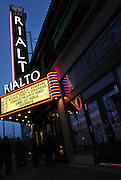 Line outside the Rialto Theatre during 2nd Saturdays Downtown in Tucson, Arizona.