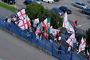 Ultras, Tifosi, Spettatori, Pubblico,<br /> A|X Armani Exchange Milano - FC Bayern Munich<br /> Euroleague 2020/2021<br /> Milano, 04/05/2021<br /> Foto Ciamillo-Castoria/ Claudio Degaspari