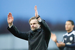 Steven Pressley, Falkirk manager at the end..Falkirk 4 v 1 Forfar Athletic, Scottish Cup fifth round tie, 2/2/2013. .©Michael Schofield.