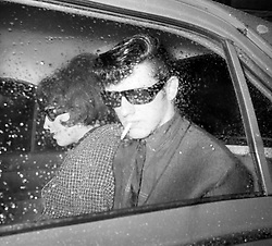 David Smith and his wife Maureen arrive at Chester Assizes, where they are important witnesses in the 'Bodies on the Moors' trial.