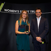 London,England,UK. 11th May 2017. Winner of the Photographer/Filmmaker of the Year  go to Hannah Bailey at the Women's Sport Trust Awards - #BeAGameChanger at The Troxy,london, UK. by See Li