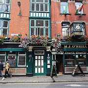 M.J. O'Neill's Pub, Dublin, Ireland. Photo Tim Clayton