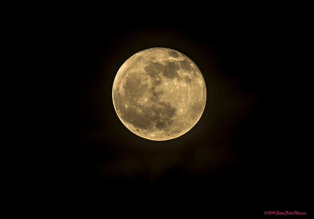 The last full moon of the year rises over the Lehigh Valley Mall along MacArthur Road in Whitehall Township, Lehigh County, Pa. Thursday, December 12, 2019. It is also known as the Long Night's Moon or Cold Moon. <br /> - Photography by Donna Fisher<br /> - ©2019 - Donna Fisher Photography, LLC                      - donnafisherphoto.com